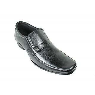 JerryMouse.in Mens Black Leather Formal Shoe - MFOR0061