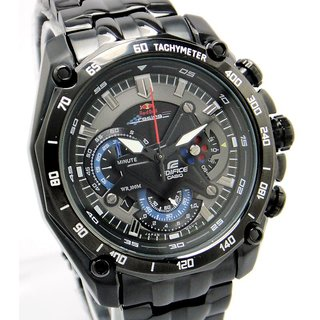 Imported Casio Edifice EF550d Full Black Redbull Edition Watch