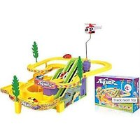 Three Track Trail Musical Flip Action Set With Car