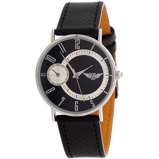 Xcel 6663-5 Analog Watch For Men - Black