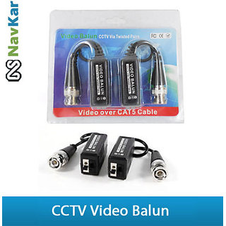 1 Ch Passive Video Balun For CCTV Camera using with Twisted Pair Cable