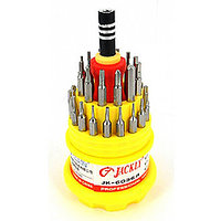 Jackly MultiFunction 31 In 1 Screw Driver Magnetic Tool Kit - For Mobiles, PCs