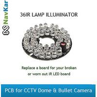 36IR LAMP ILLUMINATOR PCB FOR CCTV CAMERA DOME CAMERA BULLET CAMERA