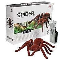 Big Remote Control Spider - Infrared With New Gen Halloween Remote