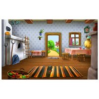 Home Cartoon Vinyl Home Decor PVC Wall Sticker ( PVC Plastic Sticker , 91 Cm X 61 Cm)