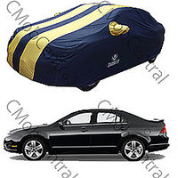 Carmate Exclusive! Ford Fusion Car Body Cover - Pearl Yellow & Blue - 100% Water Proof