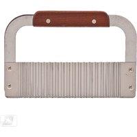 Peeler - Potato Peeler With Wooden Handle - Stainless Steel - Kitchen Essentials
