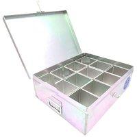 Spice Box / Masala Box / Container Set - Stainless Steel - Kitchen Essentials
