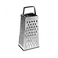 Four Sided Box Grater - Vegetable / Cheese Grater - Stainless Steel -Kitchenware