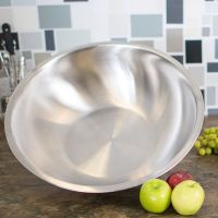 Mixing Bowls - Salad / Noodles Bowl - Stainless Steel - Kitchen Essential -3.80L