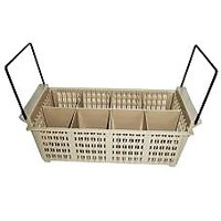 Cutlery Basket With Handle - PVC - Glossy Finish - Square Shapes - Kitchenware