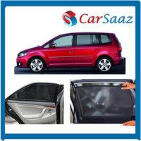 Carsaaz Premium Quality Magnetic Car Sunshades For SKODA OCTAVIA- 4 Pcs