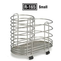 Cutlery Stand / Holder - Stainless Steel - 2 Compartments - Kitchen Essentials
