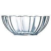 Bowl / Serving / Fruit Bowl - Glass /Cyrstal Bowl - 18 Cm - Kitchen Essentials