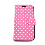 New Polka Dots Leather Case For Samsung Galaxy S4 I9500 High Quality