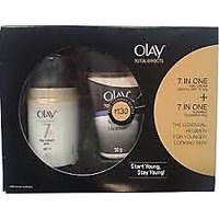 Olay Total Effect 7 In 1 Day Cream Gentle Spf 15 With Free Cleanser.