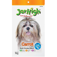 Jerhigh Carrot Stix Dog Treats 70Gm