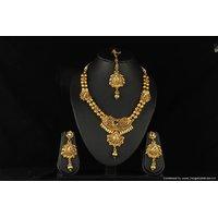 Soojewelish Gold Plated Indian Bridal Jewellery Set-(vgnl 2731)