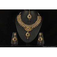 Soojewelish Gold Plated Bridal Jewellery Set-(vgnl 2868)