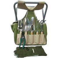Prism Stool Garden Bag CA3536-W.04 Garden Tool Kit(7 Tools)