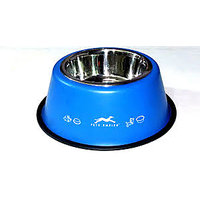 Pets Empire Anti Skid Detachable Bowls Coloured Blue 1700 ML