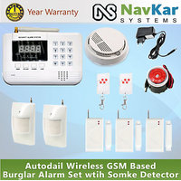 99 Zones Wireless GSM / Landline Home Security Anti-Theft Burglar Alarm System!!