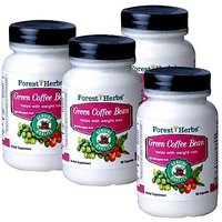 Forest Herbs  GREEN COFFEE BEAN Pack Of 4 Bottles