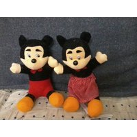 Set Of 2 Amazing Soft Toys For Kids (Mickey & Minnie)