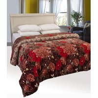 Double Bed Supersoft Koral  Blanket By - Deal Wala