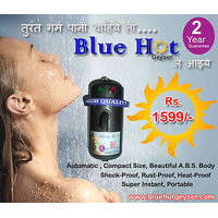 Blue Hot Instant Water Geyser - Water Heater - 2 Year Warranty