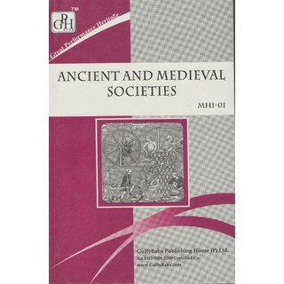 MHI1  Ancient And Medieval Societies (IGNOU Help book for MHI-1 in English Medium)