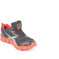 Prisma Black & Red Sports Shoes