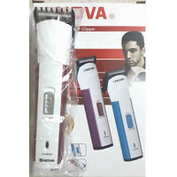 Nova Professional Hair Trimmer - Battery Rechargeable Easy Beard Cutter Shaver