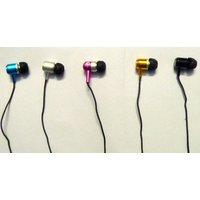 Skullcandy Earphone With MIC Ree Zip Pouch Of Skull Candy(RANDOM COLOR)
