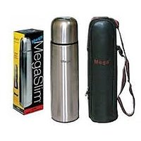 Megaslim Stainles Steel 500 Ml Vaccum Flask - Hot Cold Bottle