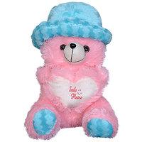 Cute Teddy Bear With Cap
