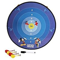 Disney Mickey Funny Multi-Function Magnetic Dartboard (Including 3 Darts)