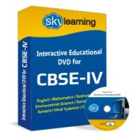 CBSE Class 4 CD/DVD Combo Pack (English, Math, Science, Hindi Vyakaran, Computer