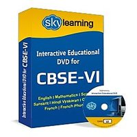 CBSE Class 6 CD/DVD Combo Pack English, Maths, Science, Hindi Vyakaran, Computer