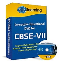 CBSE Class 7 CD/DVD Combo Pack English, Maths, Science, Hindi Vyakaran, Computer