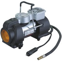 12V Full Metal Portable Electric Air Compressor/Tyre Inflator For Cars And Bikes - 5966772