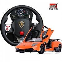 New 1:10 Lamborghini Reveton RC Car With Steering Wheel Gravity Sensing Remote