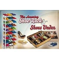 Buy 1 Shoe Rack Get 1 Shoe Shelve Free