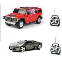 Combo Of Lamborghini And Hummer Remote Toy Cars