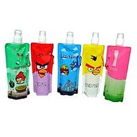 Angry Birds Foldable Water Bottle 1 Pece