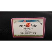 ACTIVE WHITE L-GLUTATHIONE Skin Whitening Capsules/Pills ( 60 Pills )
