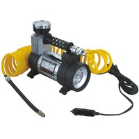 12V Full Metal Portable Electric Air Compressor/Tyre Inflator For Cars And Bikes