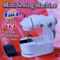 4 In 1 Mini Sewing Machine With Adapter Free Aluma Wallet