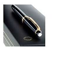 Imported Mont Blanc Black Golden Ball Pen With Box (copy)