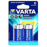VARTA High Energy 2 C Size Alkaline Batteries ( Pack Of 5 Pcs. ) - 5978812